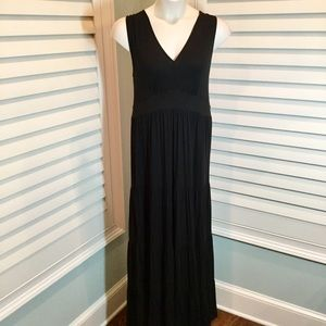 Garnet Hill V-Neck Maxi Dress, XL, EUC